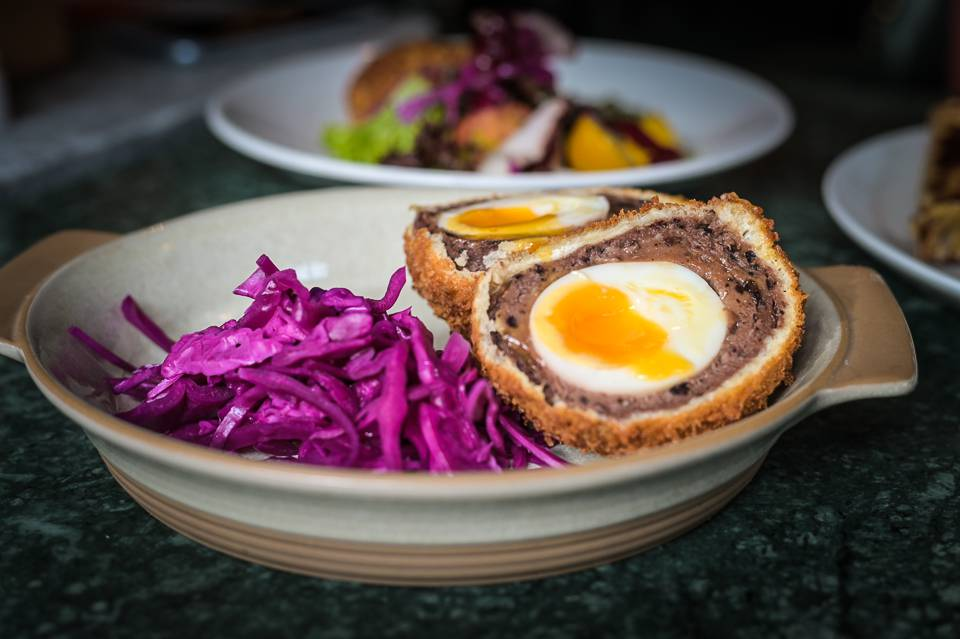 Beck and Call Leeds review Runny Scotch Egg