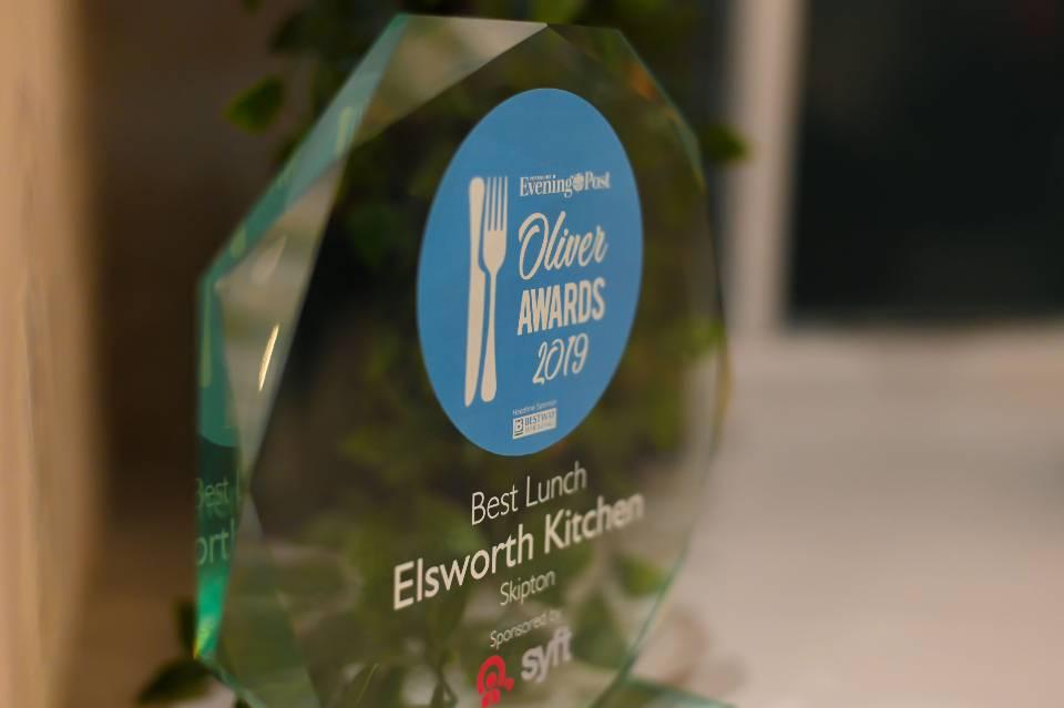 Elsworth Kitchen Skipton award
