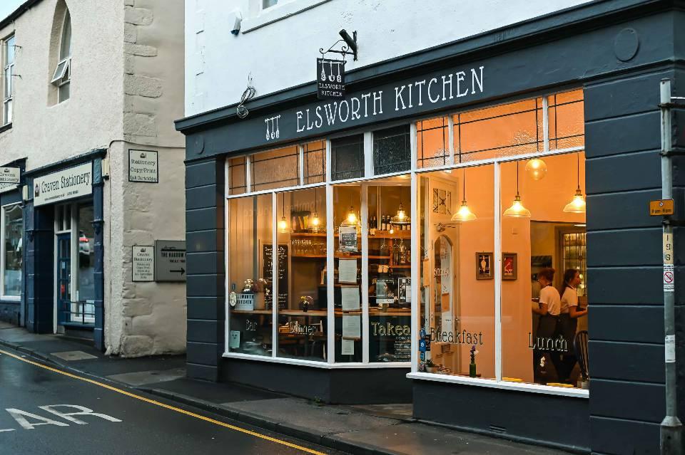 Elsworth Kitchen Skipton review exterior of restaurant