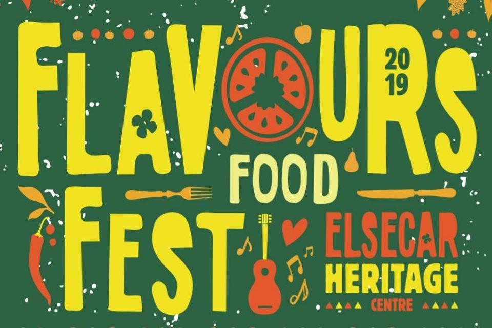 Flavours Food Festival Elsecar Heritage Centre Banner