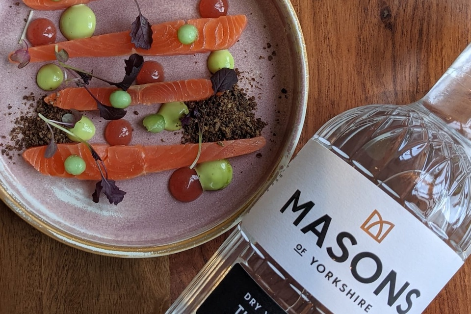 threes a crowd events - masons gin and dish