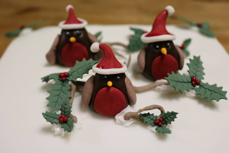 Christmas Cake Toppers Malton Cookery School