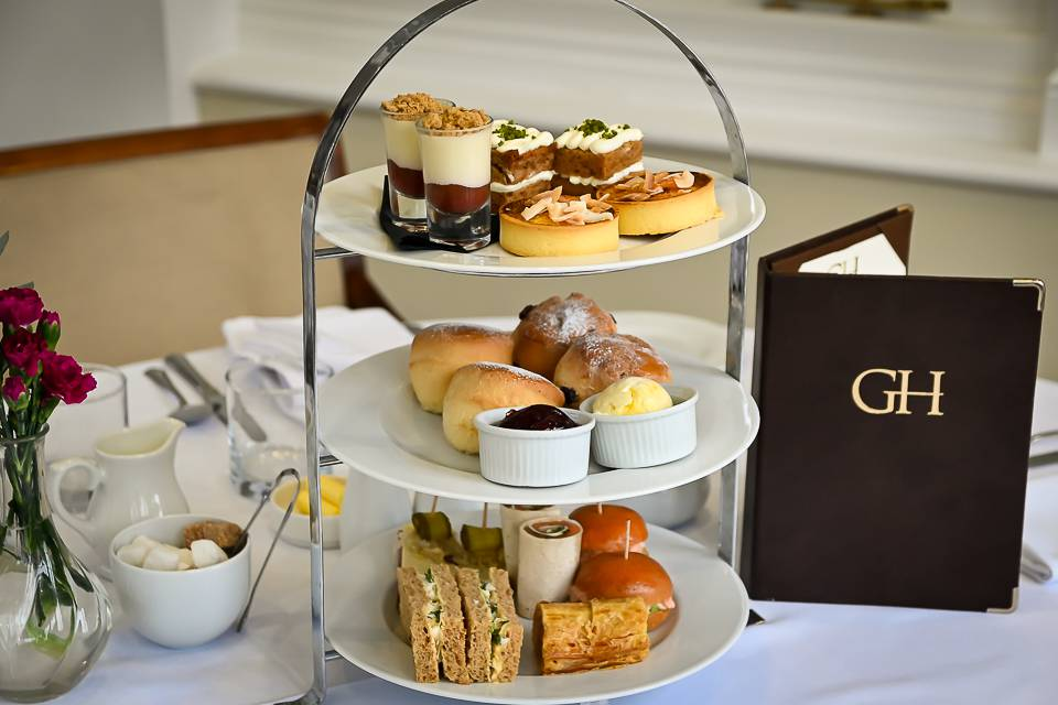Goldsborough Hall Afternoon Tea Harrogate