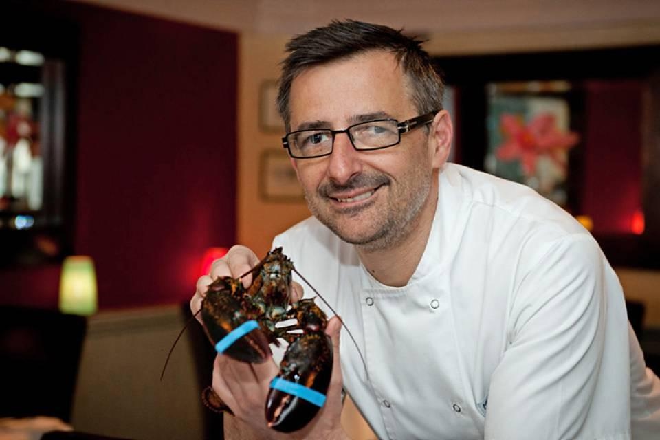 Lionel Strub Malton Cookery School Chefs Table