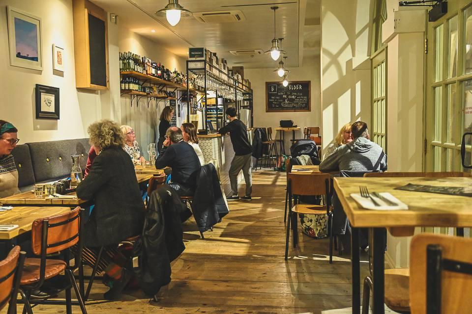 Edler Halifax Review Restaurant interior