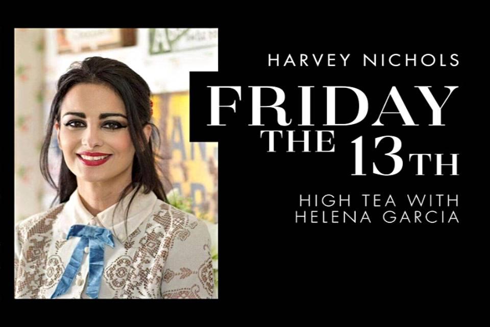 Harvey Nichols Leeds High Tea