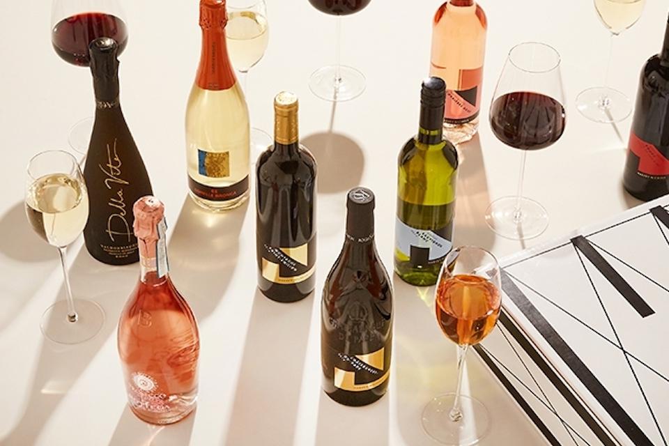 Harvey Nichols leeds event - wine festival high angle