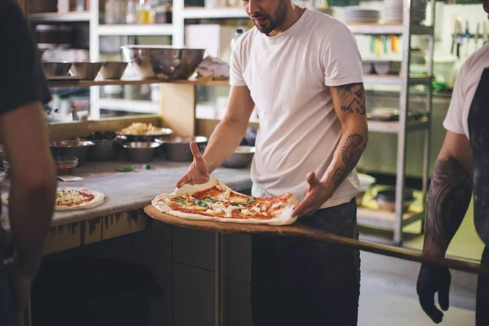 Rudy's Pizza Leeds chef