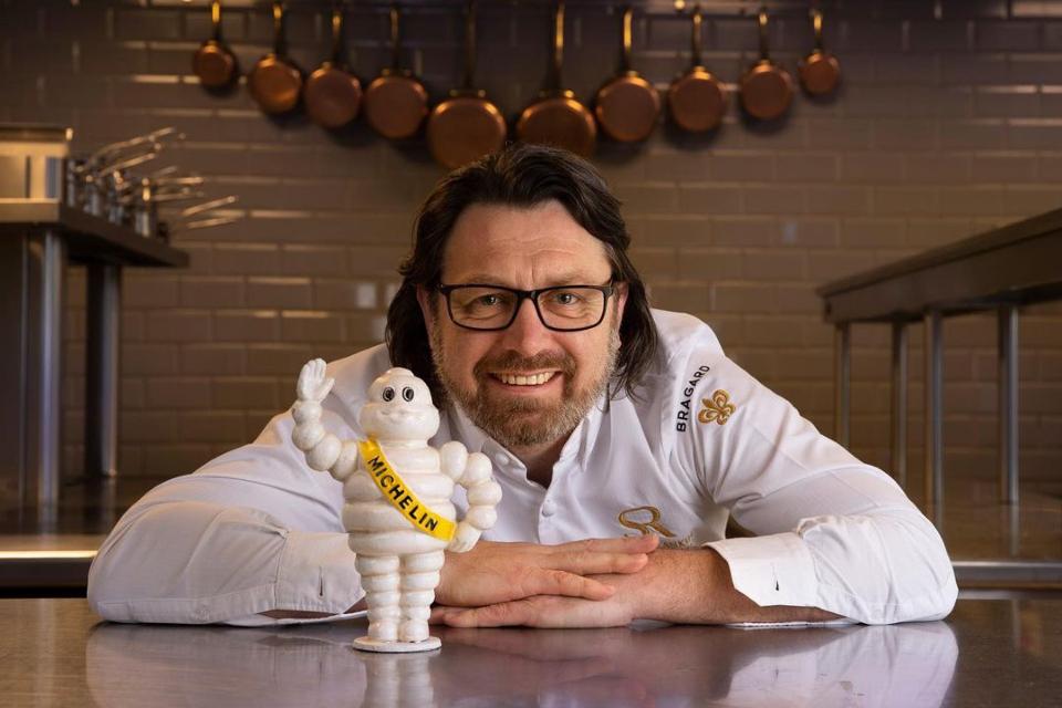 Shaun Rankin restaurant Grantley Hall Yorkshire Michelin Star