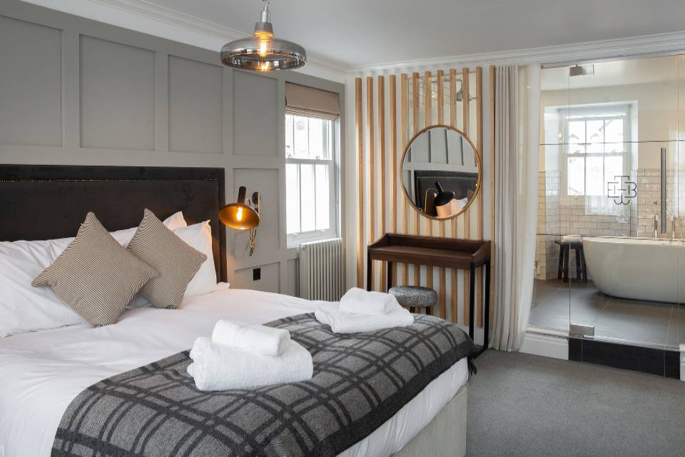 The Black Bull Inn Sedbergh bedroom