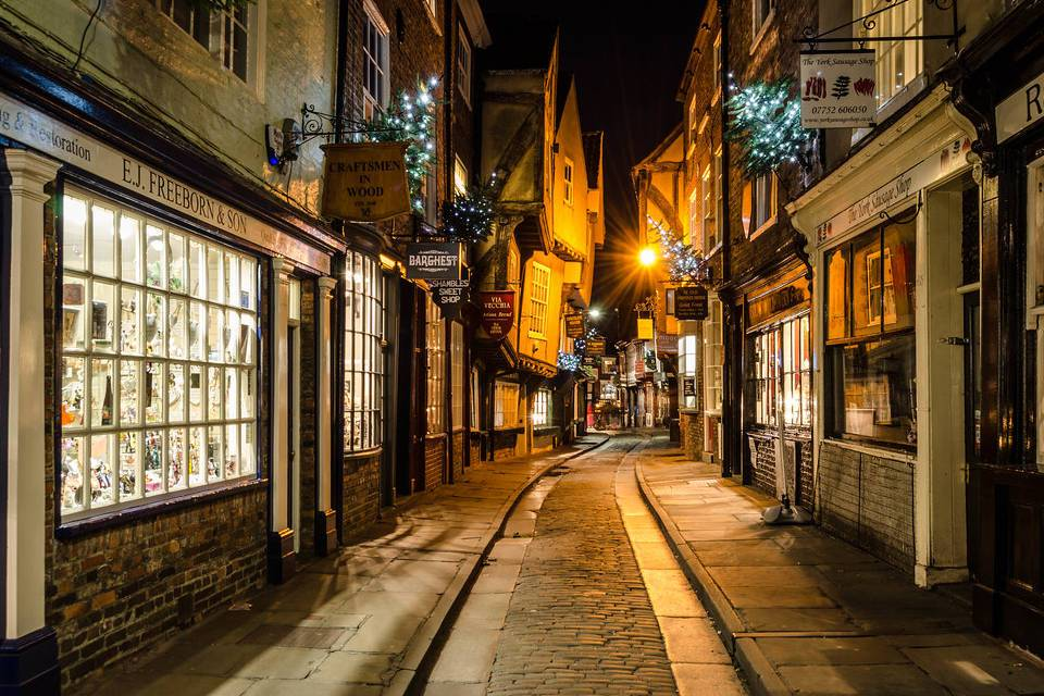 The Shambles Shop Fronts Things to do in York