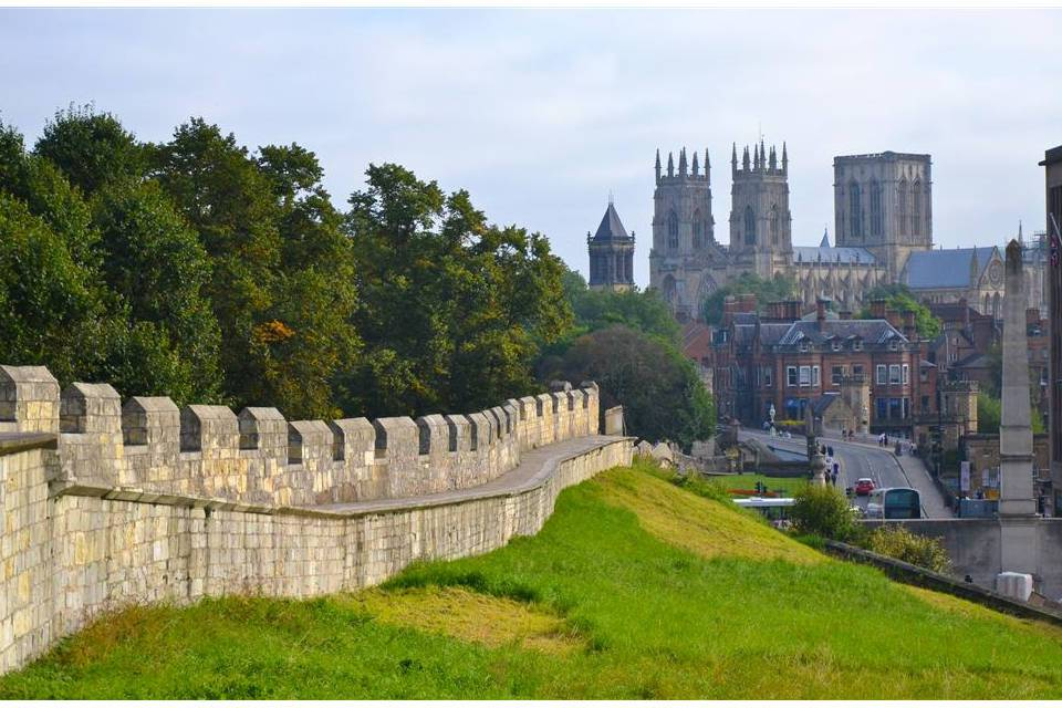 York City Walk City Walls Things to do in York