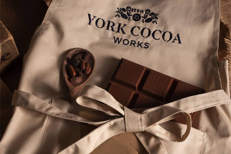 York Cocoa Works Yorkshire Cookery School Apron