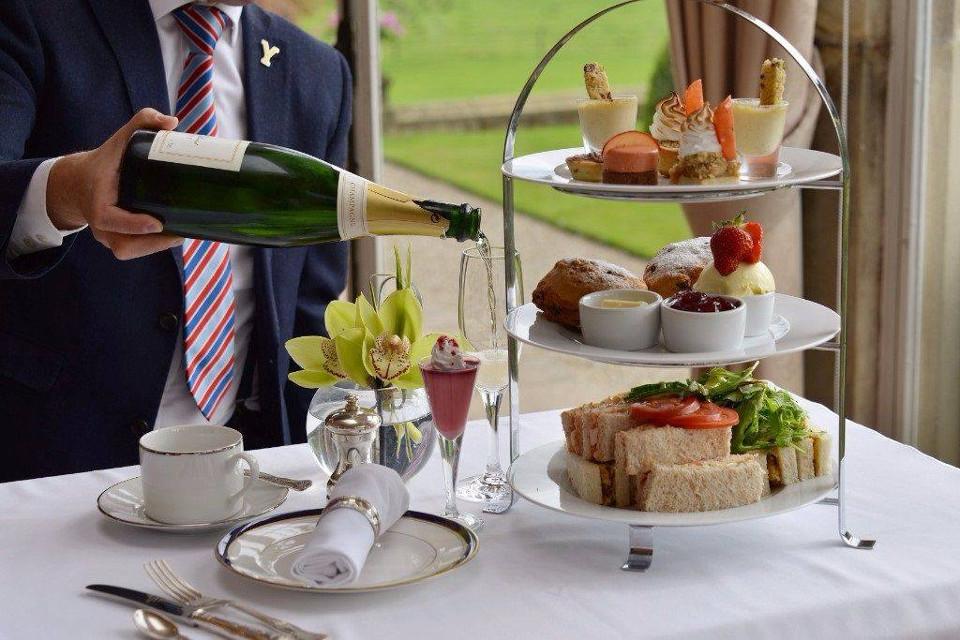 Goldsborough Hall Afternoon Tea in Harrogate