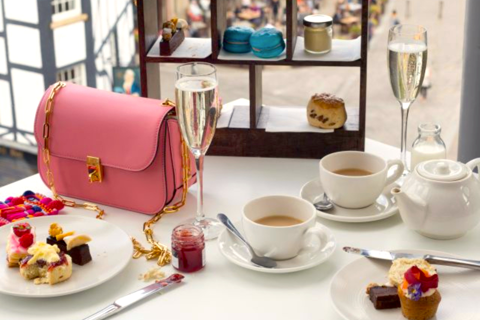 Harvey NIchols Leeds Afternoon Tea for Mother's Day in Yorkshire