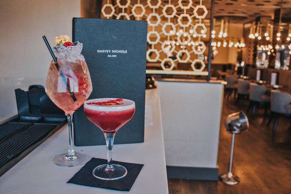 Harvey Nichols Cocktail Masterclass drinks