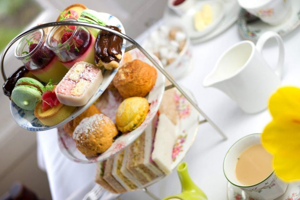best afternoon tea in harrogate west park hotel