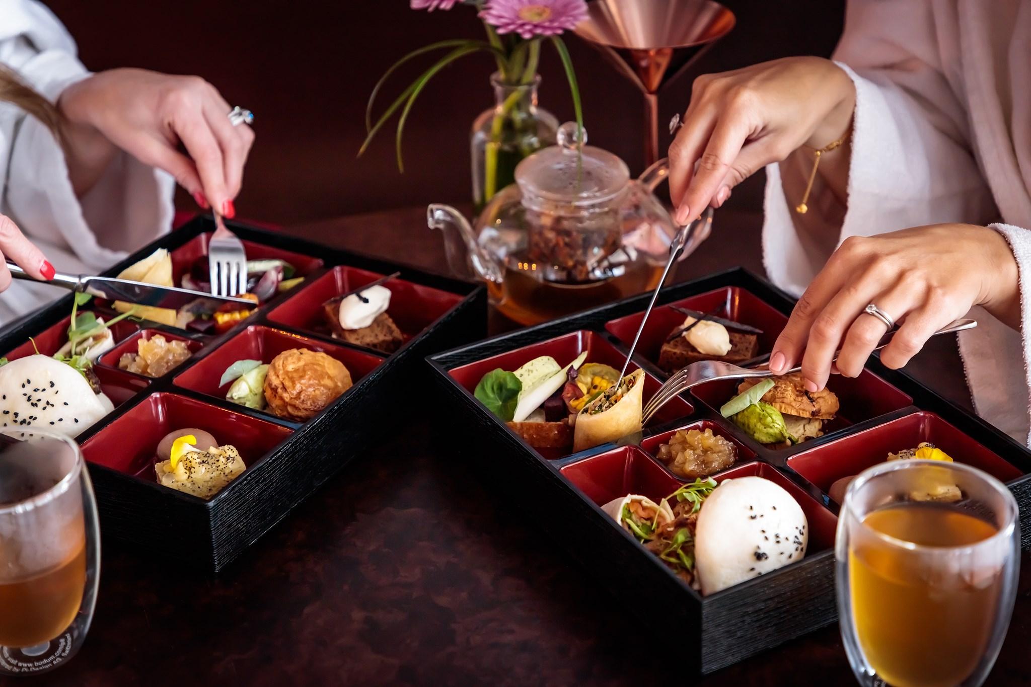 The Coniston Hotel Blossom Kitchen Event Food