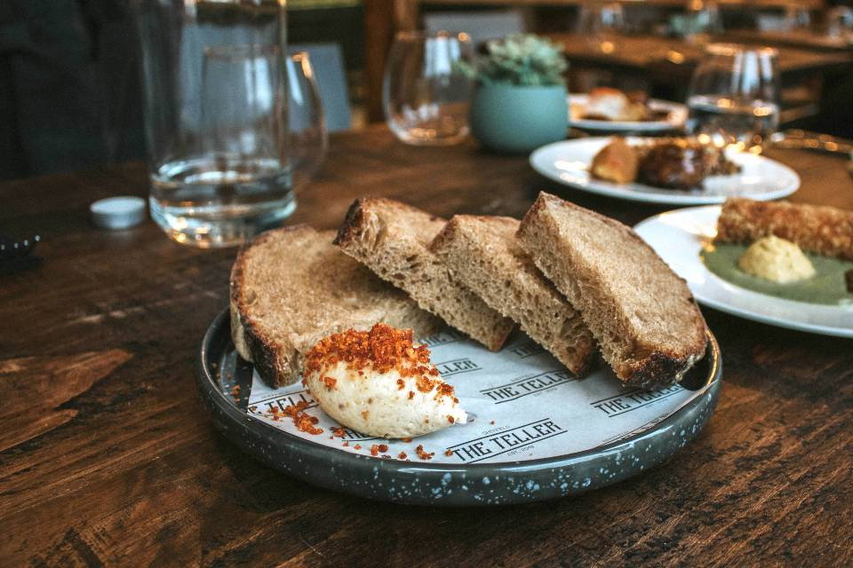 The Teller Sheffield Review bread and butter