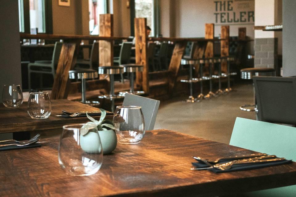 The Teller Sheffield Review interior restaurant