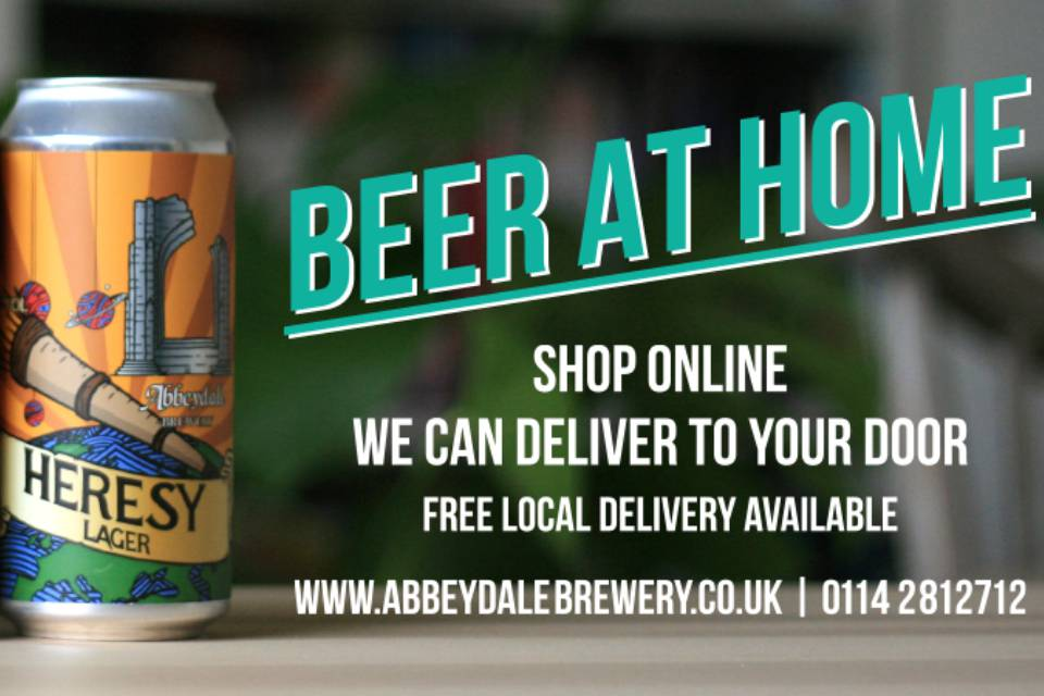 Abbeydale Brewery Alcohol Delivery Service