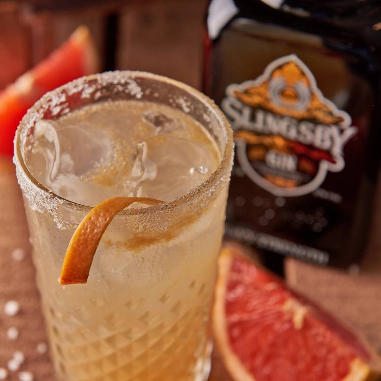 Grapefruit Gimlet Slingsby