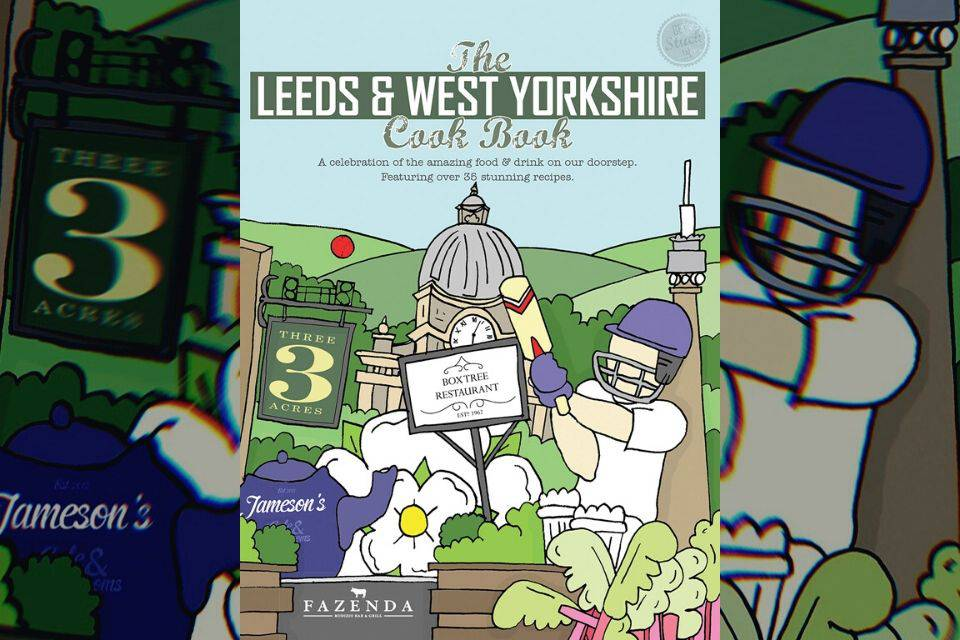 Leeds and West Yorkshire cookbook cover