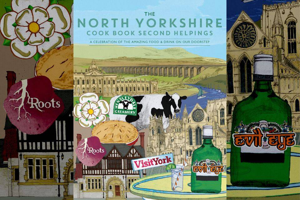 North Yorkshire cookbook cover