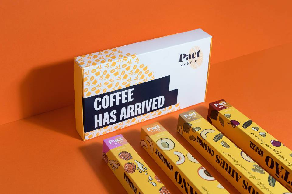 Pact Coffee Discount Code Pods