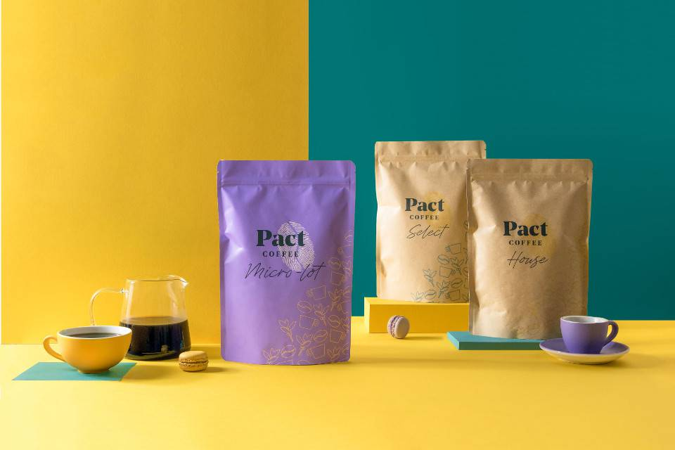 Pact Coffee Subscription Box