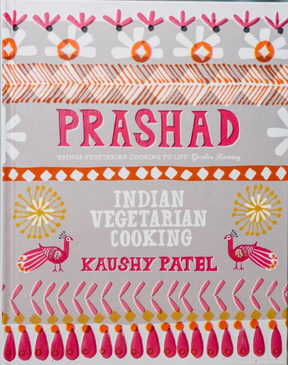 Prashad Indian Vegetarian Cooking best cookbooks right now
