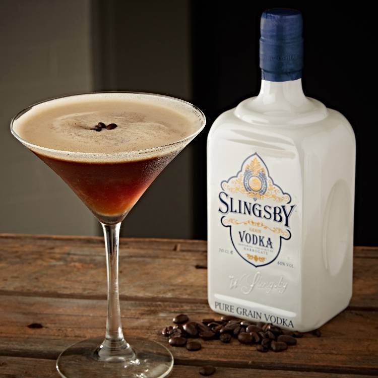 Slingsby Espresso Martini Cocktail