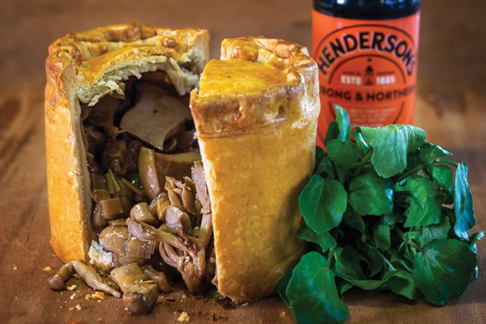 Henderson's Relish Cookbook pie