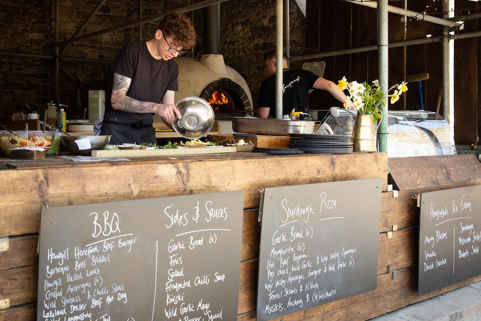 Black Bull Sedbergh Press Release - Outdoor Kitchen