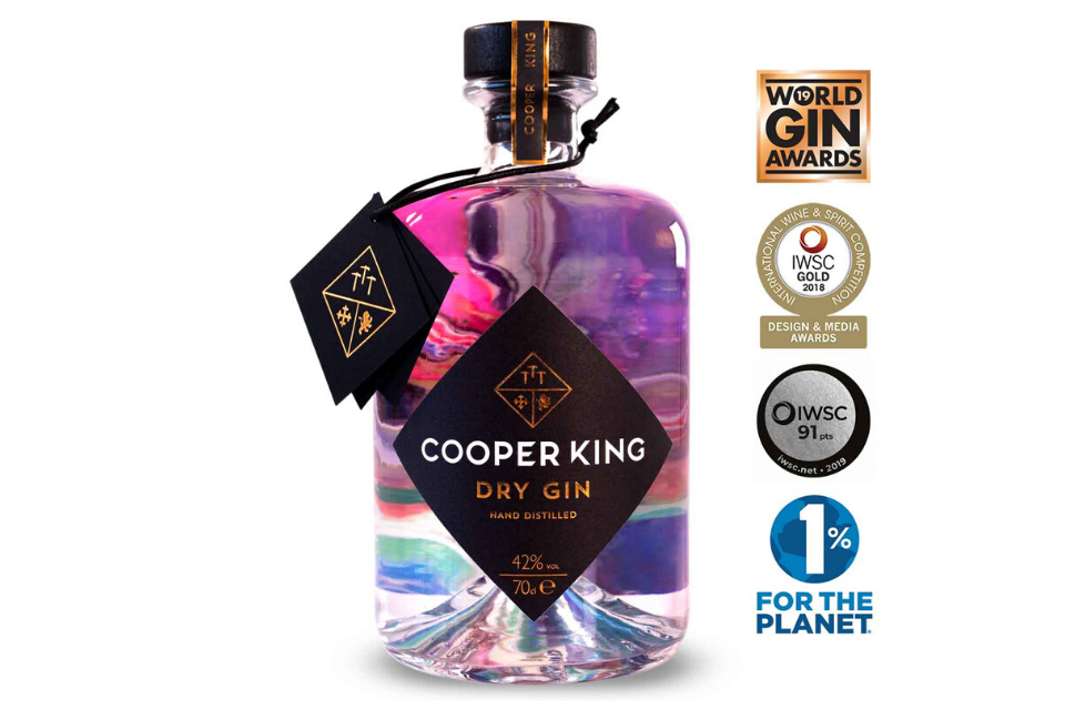 Cooper King Gin Dry Offer