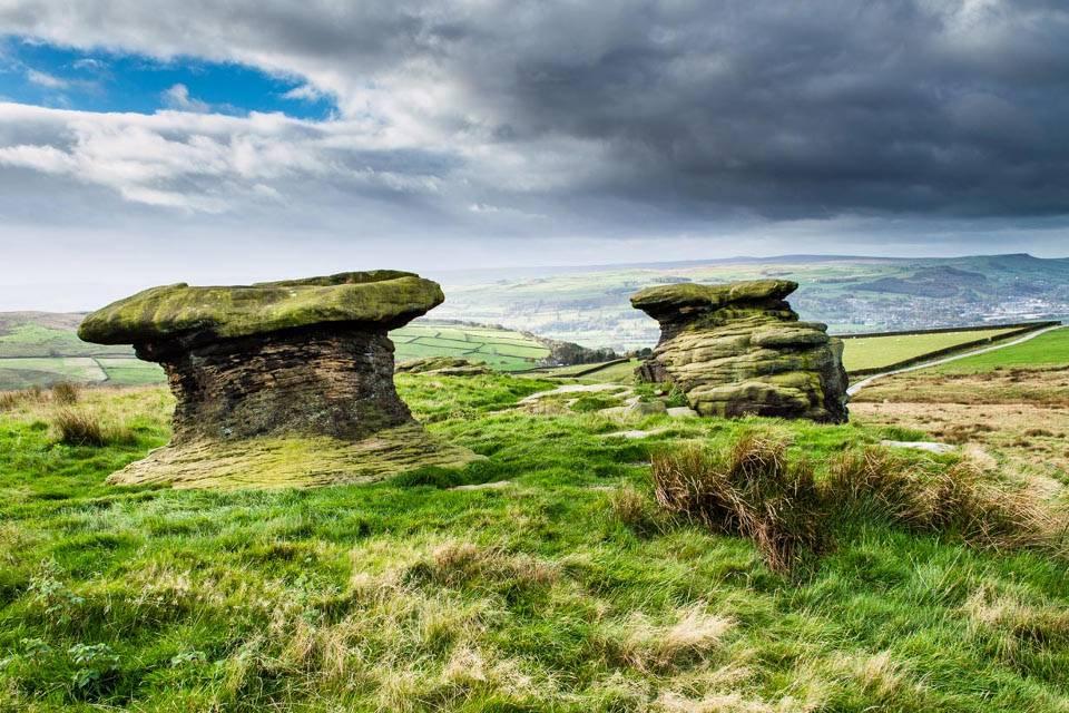 Ilkley Moor Yorkshire Walks