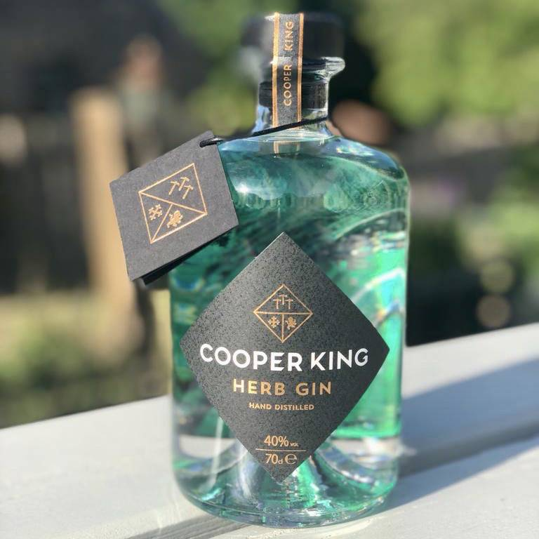 Cooper King Gin outdoor must have