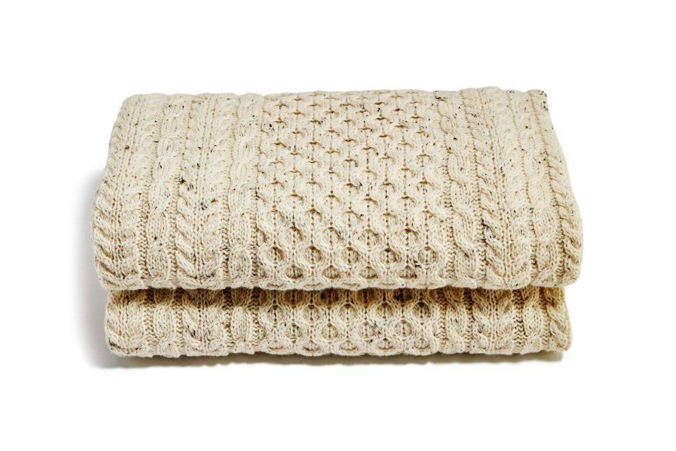 Fionn Blanket, Cream