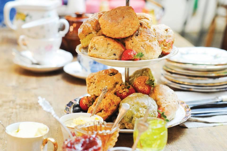 Little book of cakes and bakes vegan cream tea recipe