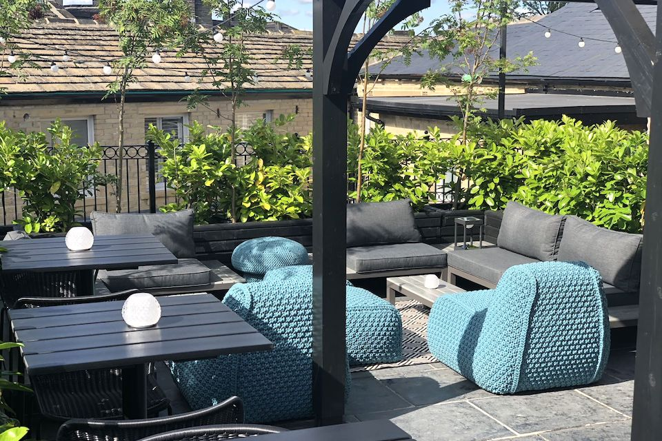 Manor House Lindley Roof Terrace