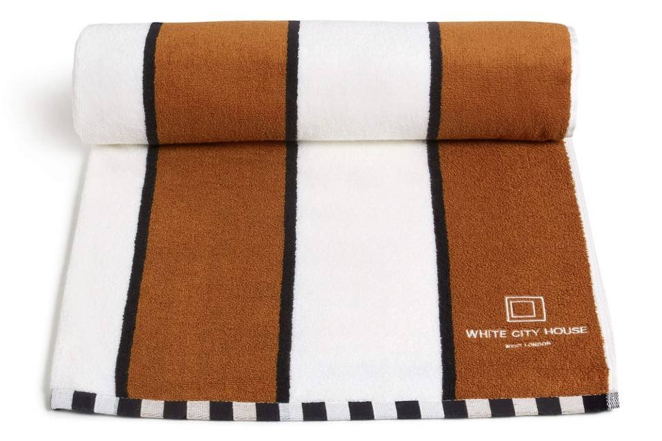 Outdoor living must haves SOHO House towel