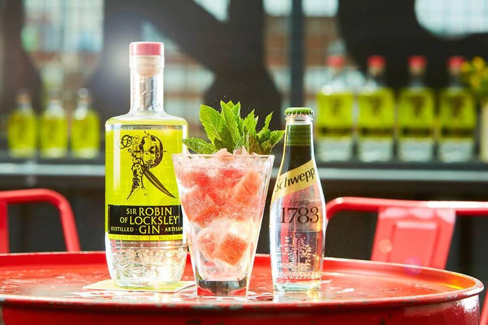 Sir Robin of Locksley Gin Sheffield Yorkshire Gin