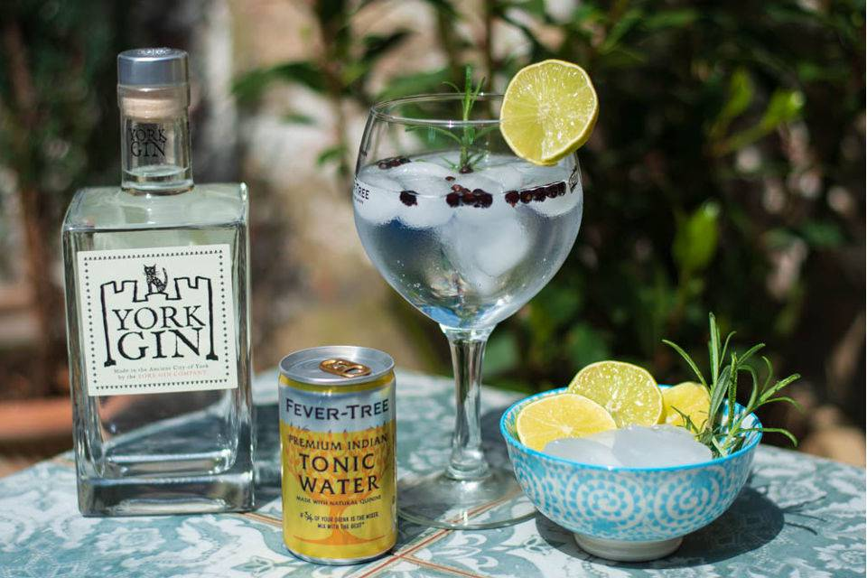 York Gin Sunshine shot - Yorkshire Gin