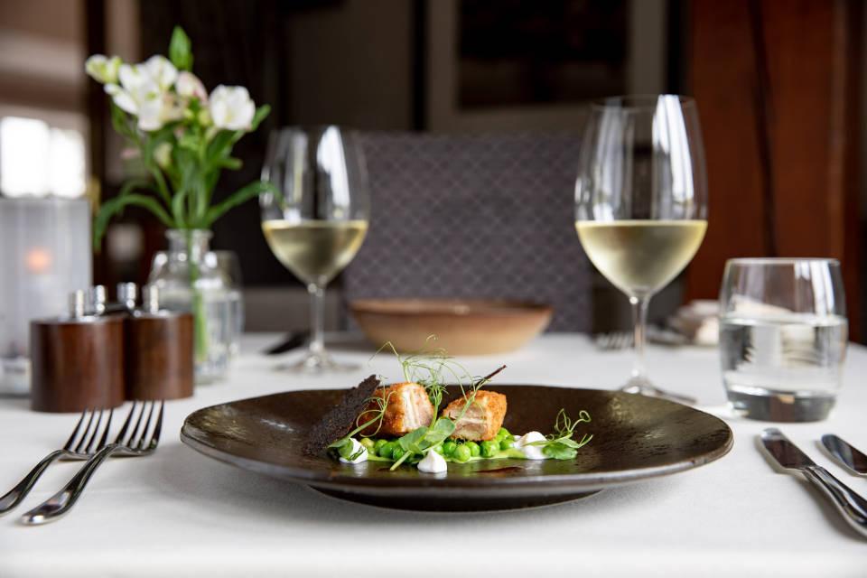 Coniston Hotel View Restaurant Sample Starter Dish
