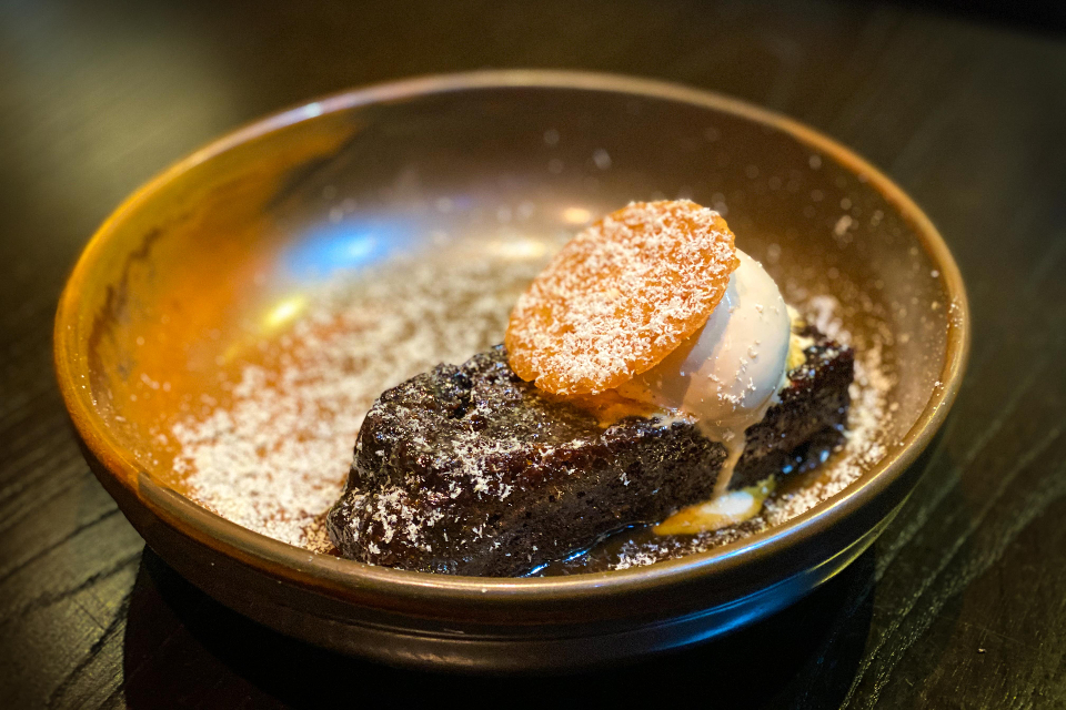 Silversmiths Sheffield Review sticky toffee pudding
