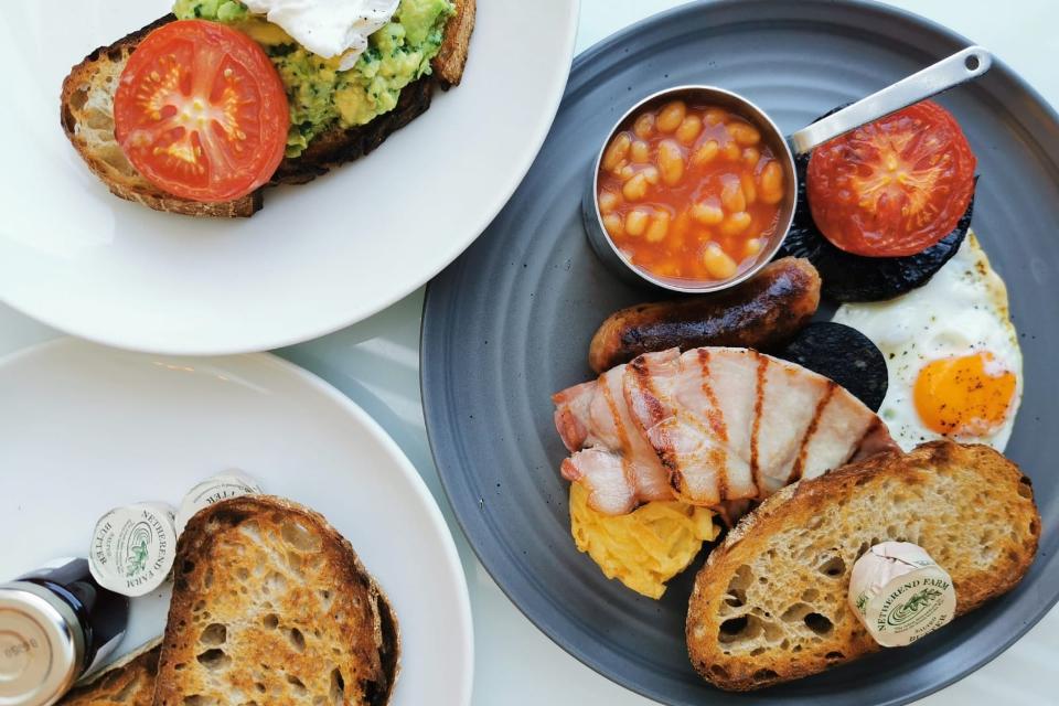 Harvey Nichols Breakfast Leeds
