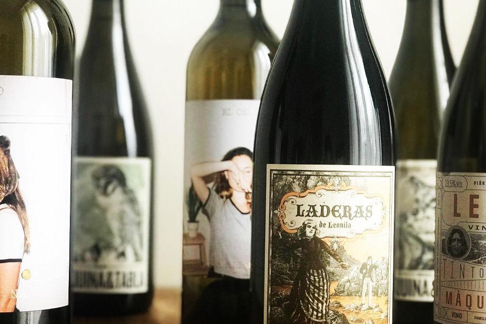 Iberica Virtual Wine Tasting bottle selection