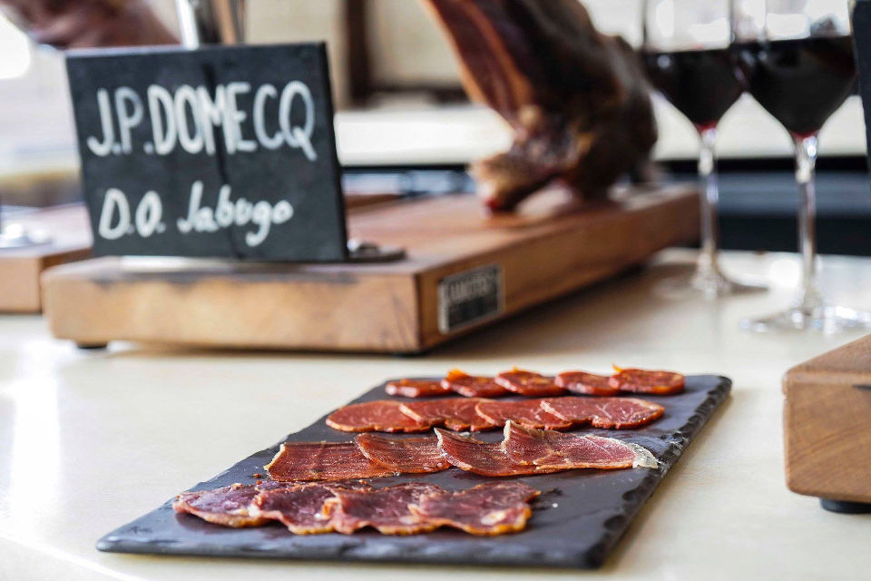 Iberica j.p domecq ham virtual tasting event