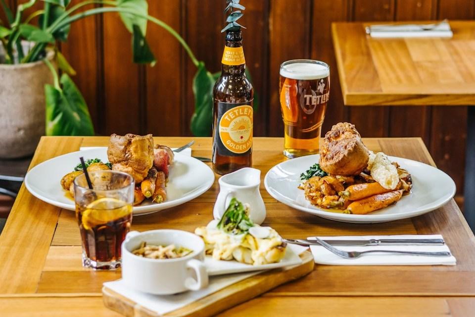 The Tetley Leeds Sunday Lunch