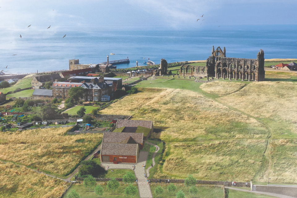 Whitby Abbey Barn View Whitby Gin